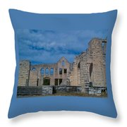 Haha Tonka Castle 1 Throw Pillow