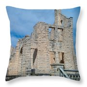 Haha Tonka Castle 2 Throw Pillow