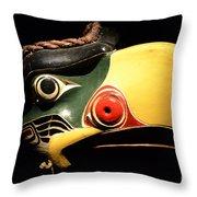 Kolus Mask Kwakwawak Mask 7 Throw Pillow