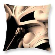 Haida Two Throw Pillow