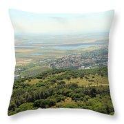 Haifa Natural Park Throw Pillow