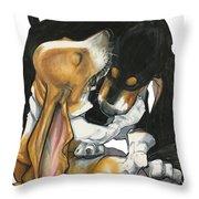 Haight 3020 Throw Pillow
