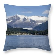 Haines Harbor Throw Pillow
