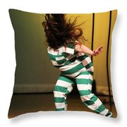 Hair Fly Throw Pillow