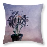 Hair In The Clouds Throw Pillow