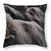Hairy River Throw Pillow
