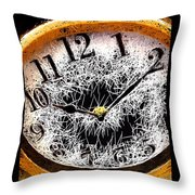 Hairy Times Throw Pillow