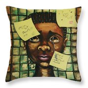 Haiti 2010 Throw Pillow