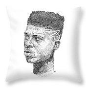 Hakeem Lyon Throw Pillow