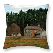 Hale Farm And Village Throw Pillow
