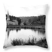 Hale Farm Throw Pillow