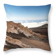 Haleakala Crater Throw Pillow