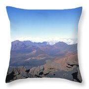 Haleakala Expanse Throw Pillow