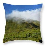 Haleakala Landscape Throw Pillow