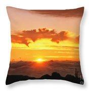 Haleakala National Park Memories Throw Pillow