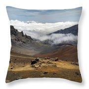 Haleakala National Park Throw Pillow
