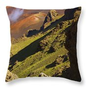 Haleakala National Park Throw Pillow