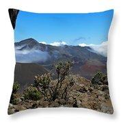 Haleakala Overlook Throw Pillow