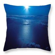 Haleakala Sunburst Throw Pillow