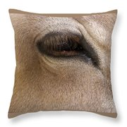 Half Asleep Throw Pillow