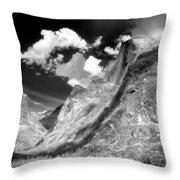 Half Dome - Alternative View - Yosemite Throw Pillow