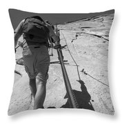 Half Dome Cables Throw Pillow