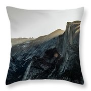 Half Dome From Glacier Point Throw Pillow