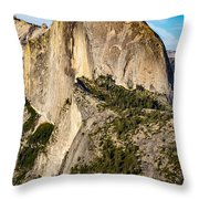 Half Dome Portrait Throw Pillow