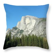 Half Dome Village Throw Pillow