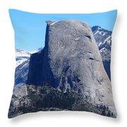 Half Dome - Yosemite  Throw Pillow