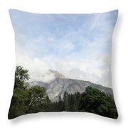 Half Dome Yosemite National Park Throw Pillow