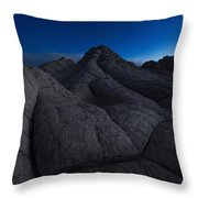 Half-light Throw Pillow