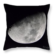 Half Moon Number 5 Throw Pillow