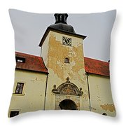 Half Past Eleven ... Throw Pillow