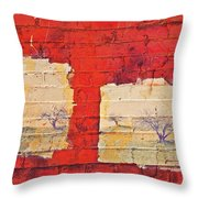 Half The Story Throw Pillow