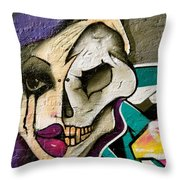 Half Truth Throw Pillow