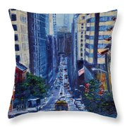 Halfway To The Stars Throw Pillow