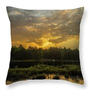 Haliburton Sunrise Throw Pillow