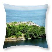Halibut Point, 5452 Throw Pillow