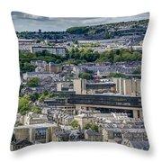 Halifax Panoramic View 2 Throw Pillow
