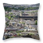 Halifax Panoramic View 5 Throw Pillow