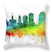Halifax Skyline Mmr-canshx05 Throw Pillow
