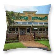 Haliimaile General Store Throw Pillow