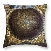 Hall Of Ambassadors - Alcazar Of Seville - Seville Spain Throw Pillow