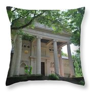 Hall Of Christ In Summer Throw Pillow