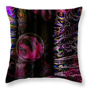 Hall Of Dreams Throw Pillow