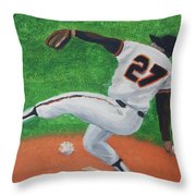 Hall Of Fame Giant Throw Pillow