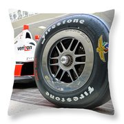 Hall Of Fame Museum At Indianapolis, Indiana Throw Pillow