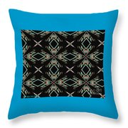 Hall Of Mirrors In Abstract Throw Pillow