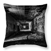 Hall Of Voices Throw Pillow